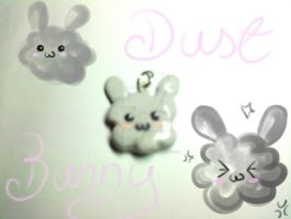 Dust Bunny Charm by lenneheartly