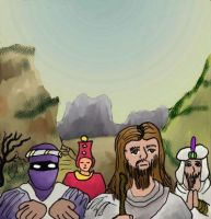 Jesus and the self-seekers by KingNot