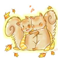 Pumpkin and Spice- Autumn Cuddles by Kaotheroogoncreator