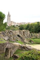 Saintes Amphitheater-2 by Rea-the-squirrel
