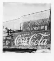 The Coke Mural by jonniedee