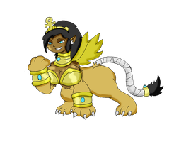 Cleo Patricia Sphinx by Chaos-force