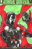 Spawn Image united cover by ChrisOzFulton
