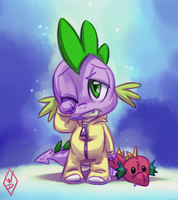Baby Dragon by WhiteDiamondsLtd