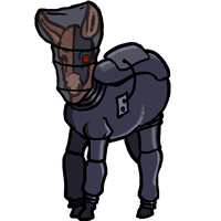 Donkey for the Feminist Borg by LB-Lee