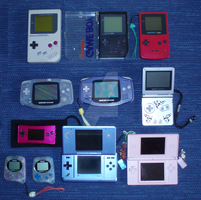 Game Boy collection by Ishtaryasha