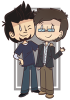 SCIENCE BROS REUNION by ecokitty