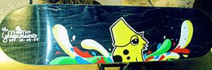 347 Skate Deck Custom by theyellowdino