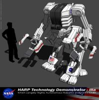 NASA Mech Prototype by Marrekie