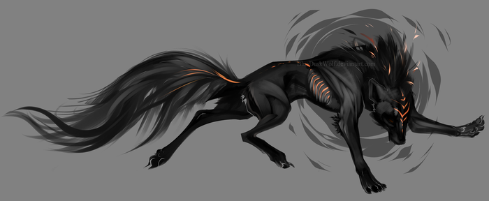 Wolf Adoptable (closed) by MykalaBlue