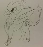 Moonfire the Griffpo by MoonlightEcko