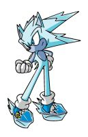 Ice Sonic by Sweecrue
