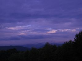Purple Sky by EtherialBookBinder