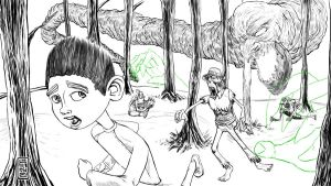 08 21 2012 Daily Draw ParaNorman Update by LineDetail