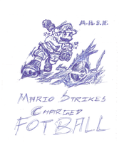 Mario Strikes Charged Football by saurabhkhirwal