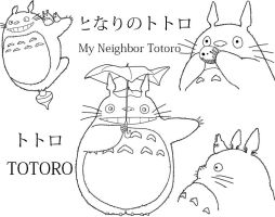 My neighbor Totoro - Totoro by Dacara