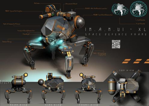 |M.A.M.U| Space Defence Frame by FrostKnight-IcE