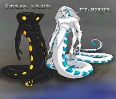 Stain and Eidolon by peanutchan