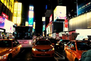 Times Square, NYC by Kellyx96