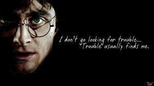 Harry Potter Wallpaper : Harry Quote! v2 by TheLadyAvatar