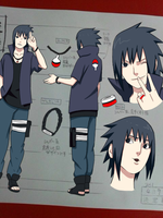 Sasuke Road to Ninja Outfit by kitt0hokage