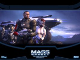 Mass Effect #1 by vgxVideoGamezX5T5T5