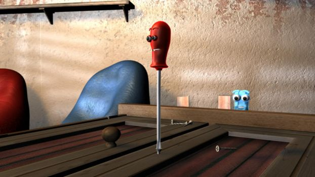 Magical Tools Screwdriver by Dyly