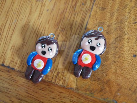 Sheldon Cooper charms by TheFervidSubmissive