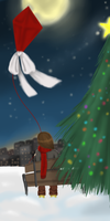 Merry Lonely Christmas by popolis