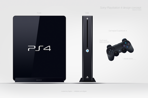 Ps4 by digitalRus