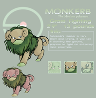 Monkerb- Fakemon by Milodyc