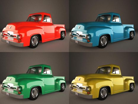 Ford F100 by binouse49