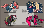 Chibi Pones- Auction :CLOSED: by Sutexii