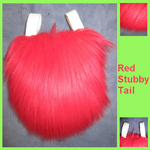 Red Nub Tail by Lascivus-Lutra