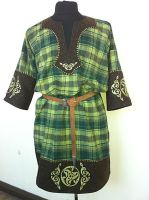 Celtic Tunic - Green La Tene by RobynGoodfellow