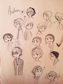 Andrew's Faces by midnad