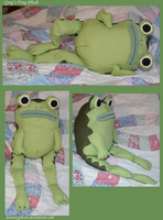 OtGW:  Greg's Frog Plush by DonutTyphoon