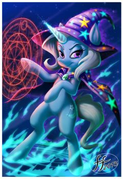 The Great and Powerful Trixie by 14-bis