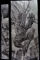 sketchbook/batman by rogercruz