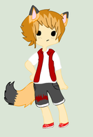 Fox Boy Adoptable Name Your Price-closed by TinyWolfy