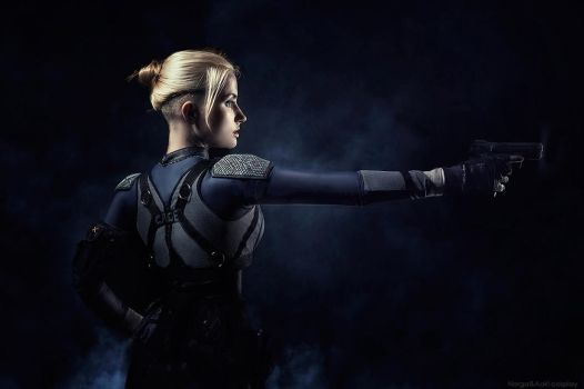 image Cassie cage and kitana in mk x have sex