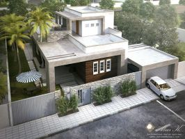 Libya contemp villa by kasrawy