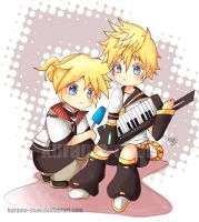 -- Is Roxas Len's nobody? -- by Kurama-chan