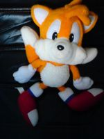 Old Tails Plushie by MartinPrower