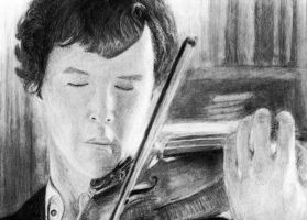 Benedict Cumberbatch by tmbare