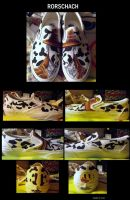 Rorschach Shoes by KoorimeYume