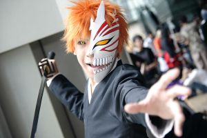 Bleach - Ichigo by Xeno-Photography