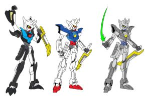 All SS Gundam Models by Chen-Chan
