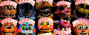 Beautiful Nightmares (FNAF 2 Icon Request) by StoryOfTwo