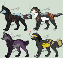 Canine Adopts -OPEN- by ShockHazard